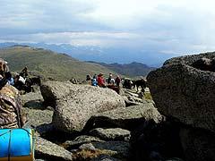 Конный поход на плато Укок : На перевале