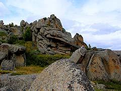 Конный поход на плато Укок : На перевале перед спуском к Джазатору