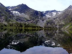 Конный поход на плато Укок : Алахинское озеро