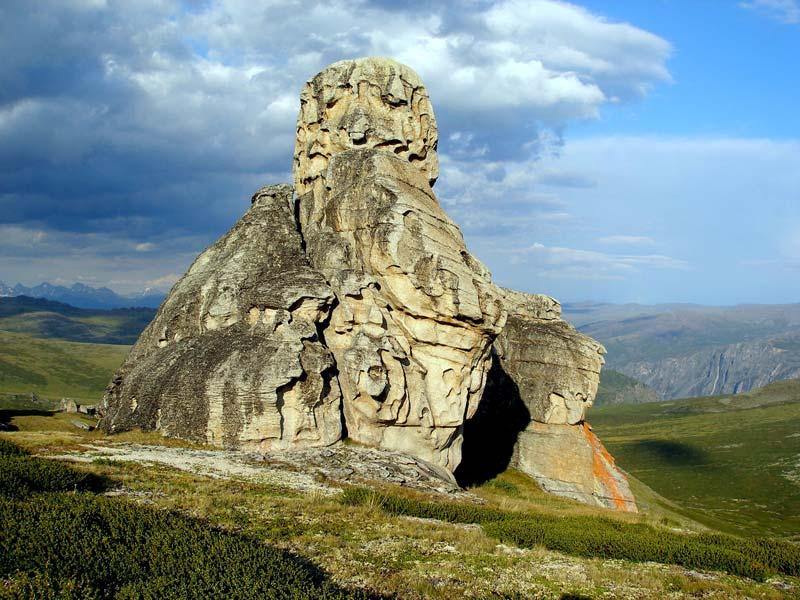 Скалы в урочище Чокпартас