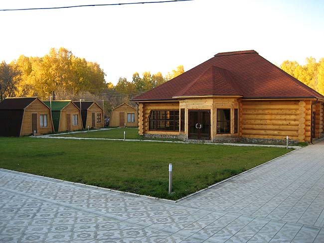 Гостиничный комплекс Алтай-Gold, ресторан