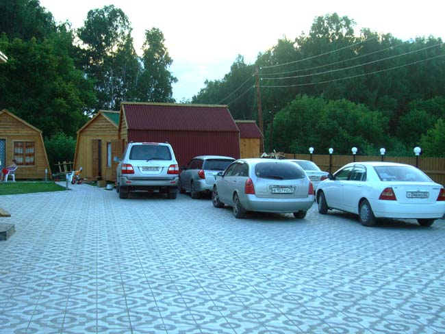 Парковка для машин