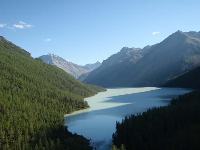 Большое Кучерлинское озеро
