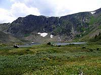 Горный Алтай : Поход от Чемала до Телецкого (лето 2007) : Озеро на Угуле