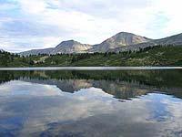 Горный Алтай : Поход от Чемала до Телецкого (лето 2007) : Ложинское озеро