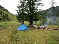 Горный Алтай : Поход от Чемала до Телецкого (лето 2007) : Стоянка на Тюрдеме-Южеме