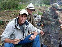 Горный Алтай : Поход от Чемала до Телецкого (лето 2007) : Хариус. Сам запек - сам и ем