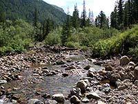 Горный Алтай : Поход от Чемала до Телецкого (лето 2007) : Река расширилась!