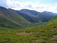 Горный Алтай : Поход от Чемала до Телецкого (лето 2007) : Долина Карасазкана