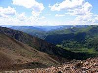 Горный Алтай : Поход от Чемала до Телецкого (лето 2007) : Вид со Штатива на Карасазкан