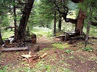 Горный Алтай : Поход от Чемала до Телецкого (лето 2007) : Стоянка