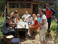 Горный Алтай : Поход от Чемала до Телецкого (лето 2007) : Весёлая компания