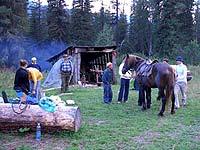 Горный Алтай : Поход от Чемала до Телецкого (лето 2007) : Обого. Группа лошадников