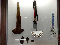Горный Алтай : «Принцессы Укока» : Головное украшение и футляр для него из кургана Ак-Алаха-3