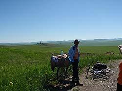 Горный Алтай : Велопоход «Два Алтая» : Одинокий ковбой на железном коне