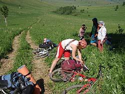 Горный Алтай : Велопоход «Два Алтая» : Соломенная дорога