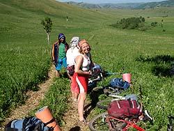 Горный Алтай : Велопоход «Два Алтая» : Смеемся над трудностями