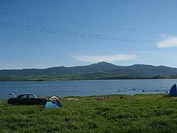 Горный Алтай : Велопоход «Два Алтая» : Озеро Белое и гора Синюха