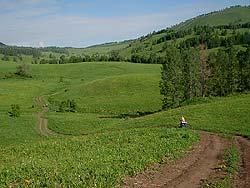Горный Алтай : Велопоход «Два Алтая» : Дорога
