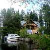 Горный Алтай : Пансионат «Серебряный берег» : Летний коттедж на берегу Телецкого озера