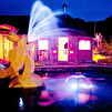 Горный Алтай : Турбаза «Золотая рыбка» : «Золотая рыбка» вечером